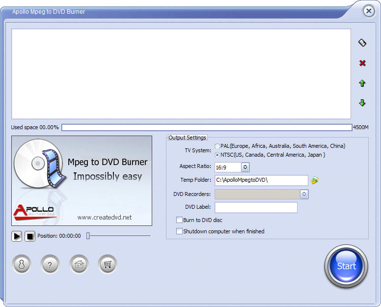 Mpeg to DVD Burner convert mpeg to DVD
