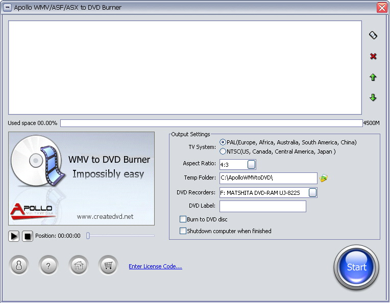 convert WMV, ASF, ASX to DVD, DVD Burner